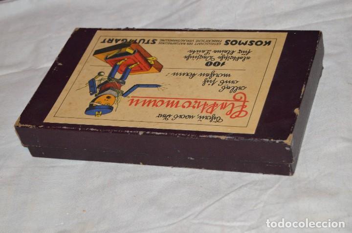 Juguetes antiguos de hojalata: ANTIGUO Y VINTAGE - años 30 / 40 - JUEGO ELÉCTRICO - SCHAU, WAS DER ELEKTROMANN - KOSMOS - HAZ OFERT - Foto 12 - 119229915