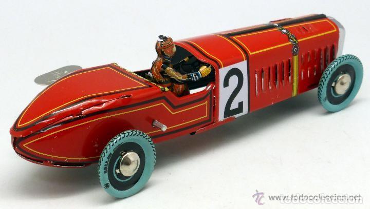 Juguetes antiguos de hojalata: Bugatti bólido Paya N 2 NUEVO EN SU CAJA - Foto 3 - 164954968
