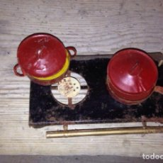 Juguetes antiguos de hojalata: COCINA HOJALATA 1930 ORIGINAL. Lote 56837783