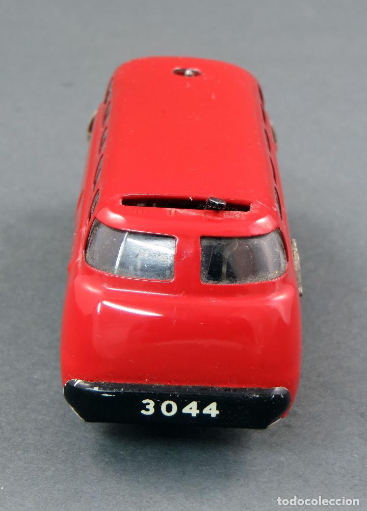 Juguetes antiguos de hojalata: Autobus Schuco Varianto 3044 Bus Germany a cuerda años 50 Funciona - Foto 3 - 120301639