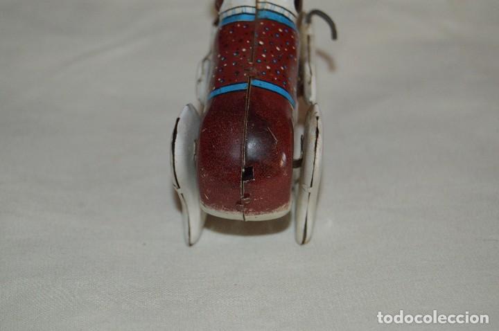Juguetes antiguos de hojalata: VINTAGE - PERRO DE HOJALATA - MADE IN JAPAN - FUNCIONA - ENDOH - A CUERDA - TIN TOY - WIND UP TOY - Foto 5 - 120909315