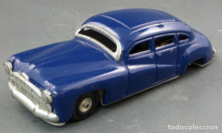 COCHE AUTOMOBIL HOJALATA MADE IN GERMANY A FRICCIÓN FUNCIONA AÑOS 50 (Juguetes - Juguetes Antiguos de Hojalata Extranjeros)