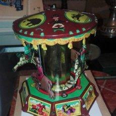 Juguetes antiguos de hojalata: PAYA TIO VIVO. Lote 121702487