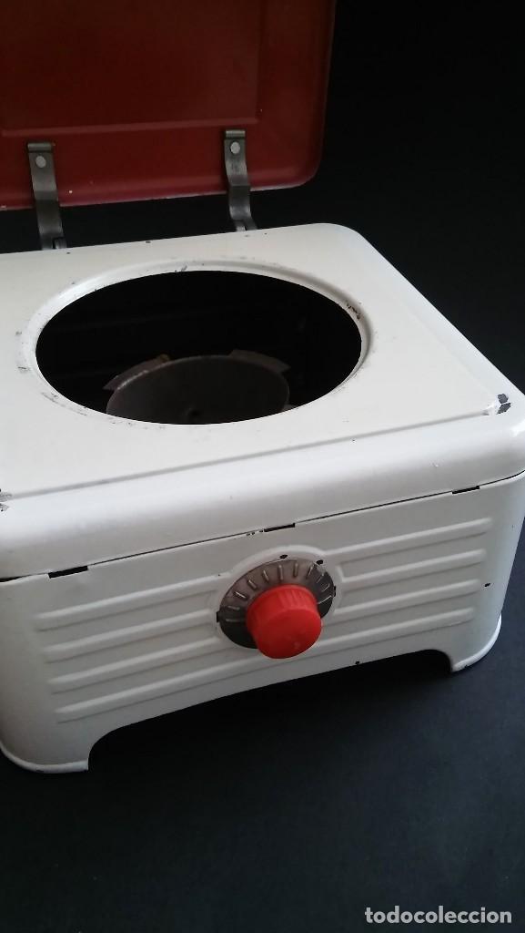 Juguetes antiguos de hojalata: Cocinita cocina fogón de hojalata chapa metálica, juguete muñeca, animalitos antigua s XX - Foto 6 - 121970823