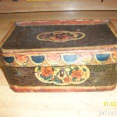Juguetes antiguos de hojalata: ANTIGUA MALETA DE HOJALATA-RICO, S.A-IBI. Lote 126082951