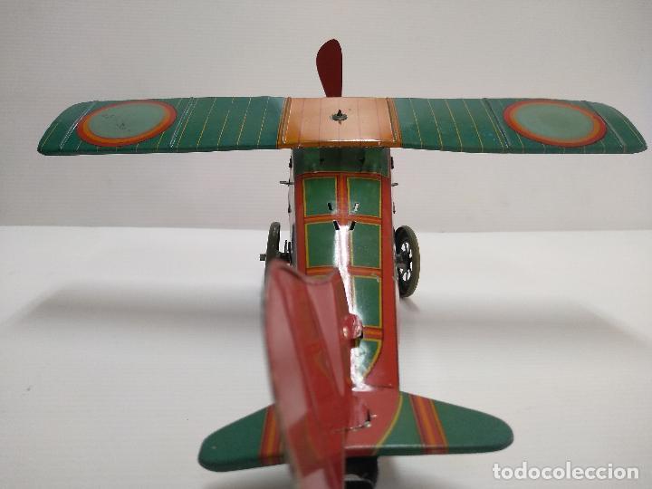 Juguetes antiguos de hojalata: Avión aeroplano Looping Payá ? años 20-30 - Foto 4 - 127208563