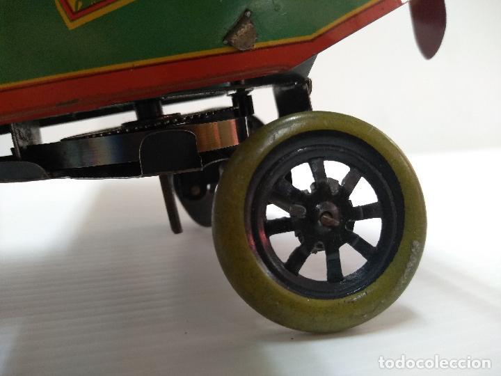 Juguetes antiguos de hojalata: Avión aeroplano Looping Payá ? años 20-30 - Foto 5 - 127208563
