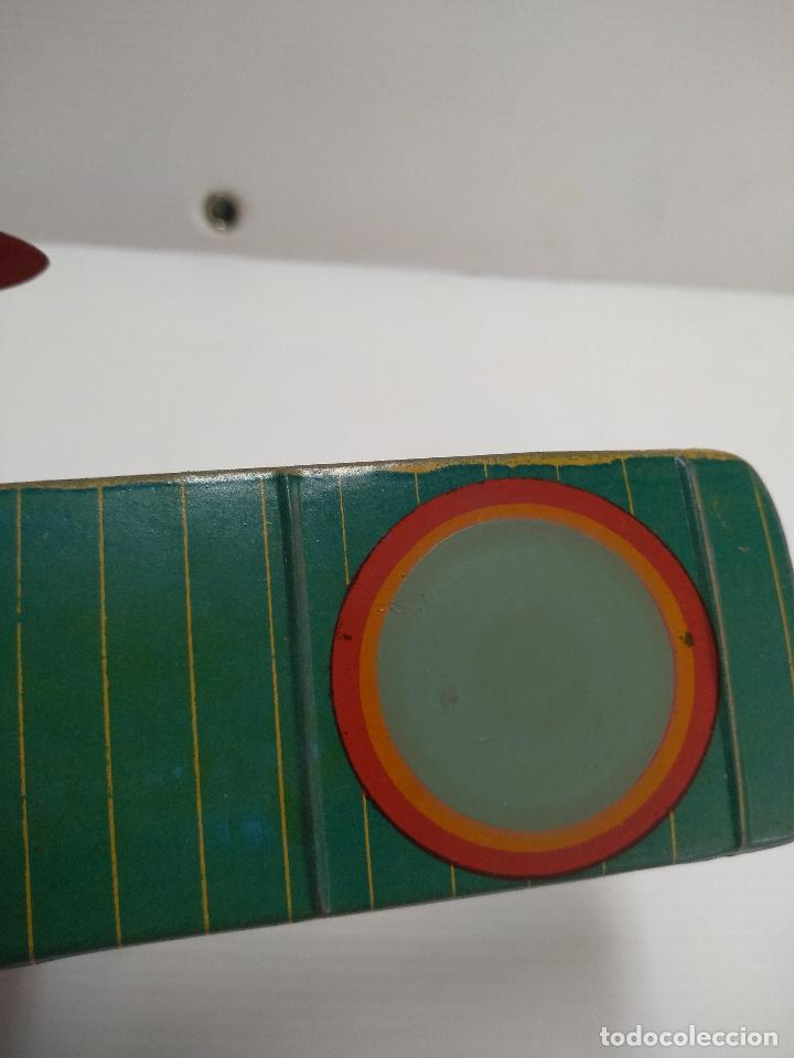 Juguetes antiguos de hojalata: Avión aeroplano Looping Payá ? años 20-30 - Foto 8 - 127208563