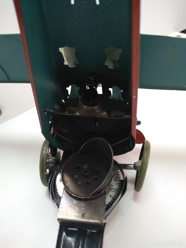 Juguetes antiguos de hojalata: Avión aeroplano Looping Payá ? años 20-30 - Foto 12 - 127208563