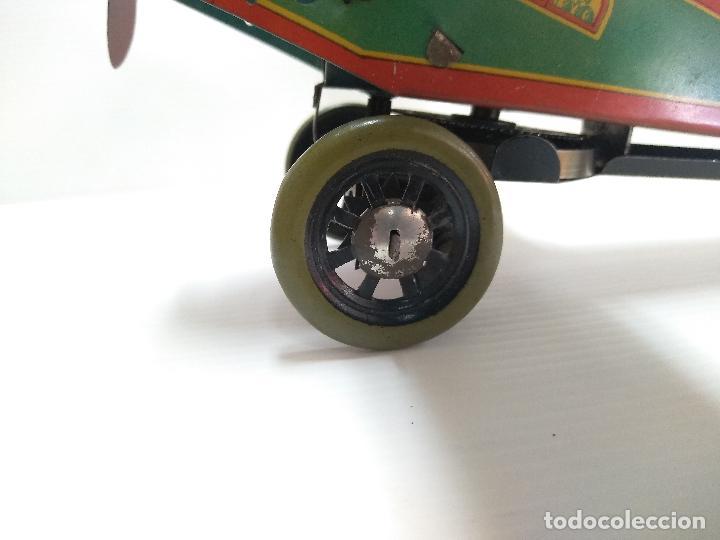 Juguetes antiguos de hojalata: Avión aeroplano Looping Payá ? años 20-30 - Foto 13 - 127208563
