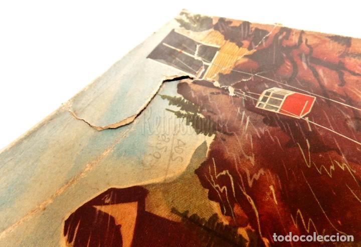Juguetes antiguos de hojalata: PISTA ACCESORIOS MOVIBLES TELEFÉRICO CABLE CAR TECHNOFIX WESTERN GERMANY A CUERDA AÑOS 60 CON CAJA - Foto 18 - 128491283