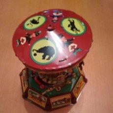 Juguetes antiguos de hojalata: TIO VIVO. Lote 129482903