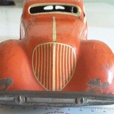 Juguetes antiguos de hojalata - GRAN AUTOMÓVIL DISTLER con conductor años 30 - 130275402