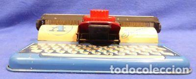 Juguetes antiguos de hojalata: Máquina escribir 868 Apex imperial Toy-resolución SM museo eisel-máquina escribir HOJALATA 134,00 - Foto 2 - 130668488