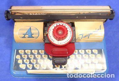 Juguetes antiguos de hojalata: Máquina escribir 868 Apex imperial Toy-resolución SM museo eisel-máquina escribir HOJALATA 134,00 - Foto 4 - 130668488