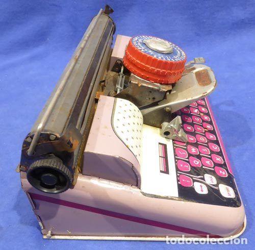 Juguetes antiguos de hojalata: Máquina escribri Mettoy elegant-resolución SM museo eisel-máquina escribirr - 869 HOJALATA 134,00 € - Foto 5 - 130669338