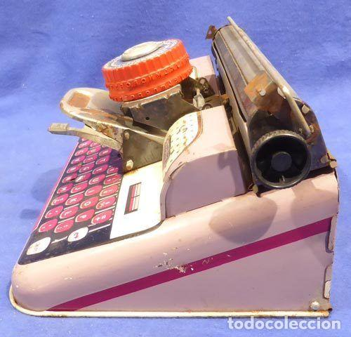 Juguetes antiguos de hojalata: Máquina escribri Mettoy elegant-resolución SM museo eisel-máquina escribirr - 869 HOJALATA 134,00 € - Foto 6 - 130669338