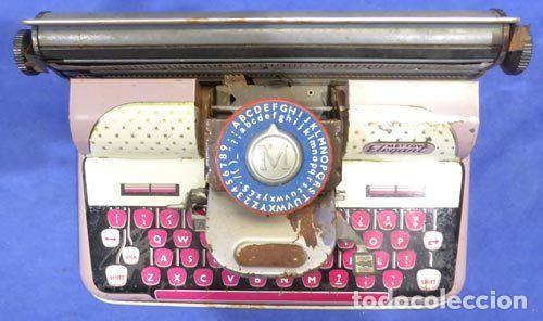 Juguetes antiguos de hojalata: Máquina escribri Mettoy elegant-resolución SM museo eisel-máquina escribirr - 869 HOJALATA 134,00 € - Foto 8 - 130669338