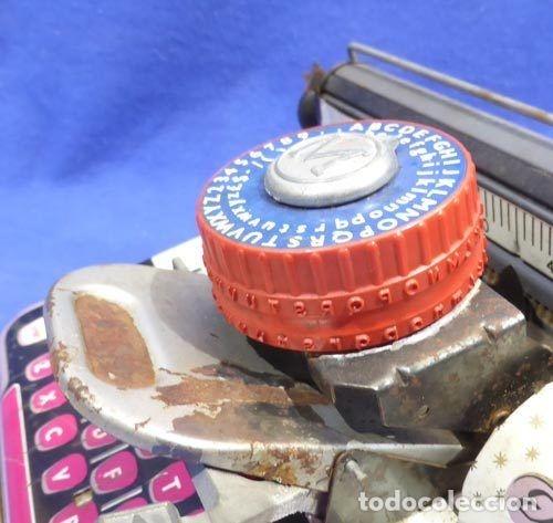 Juguetes antiguos de hojalata: Máquina escribri Mettoy elegant-resolución SM museo eisel-máquina escribirr - 869 HOJALATA 134,00 € - Foto 12 - 130669338