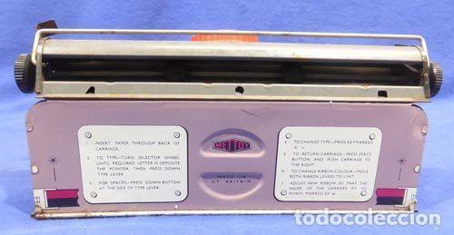 Juguetes antiguos de hojalata: Máquina escribri Mettoy elegant-resolución SM museo eisel-máquina escribirr - 869 HOJALATA 134,00 € - Foto 13 - 130669338