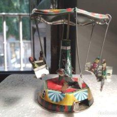 Juguetes antiguos de hojalata: TIOVIVO DE HOJALATA - KWP. Lote 130793064