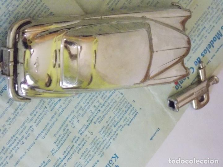 Juguetes antiguos de hojalata: Antiguo coche de hojalata y a cuerda BUICK PRAMETA made in germany // tin toy car - Foto 8 - 178975750