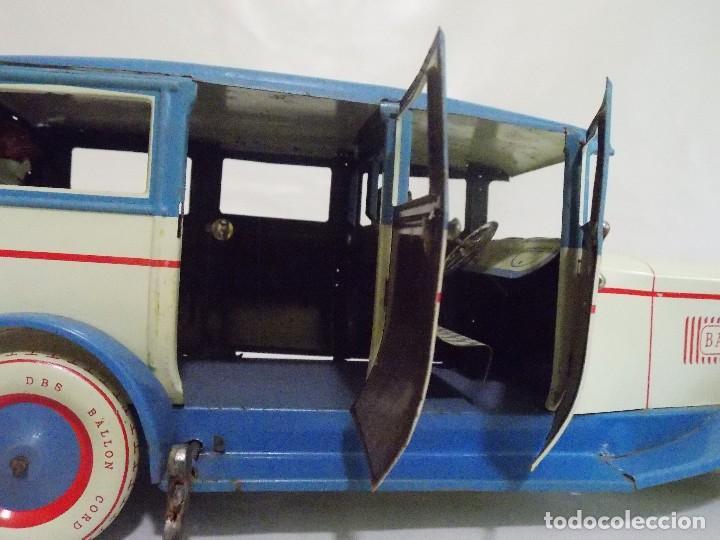 Juguetes antiguos de hojalata: COCHE DE HOJALATA SEDAN 540 BARON LIMUSINA REPLICA A Lehmann Luxus por DBS ALEMANIA - Foto 10 - 132733158