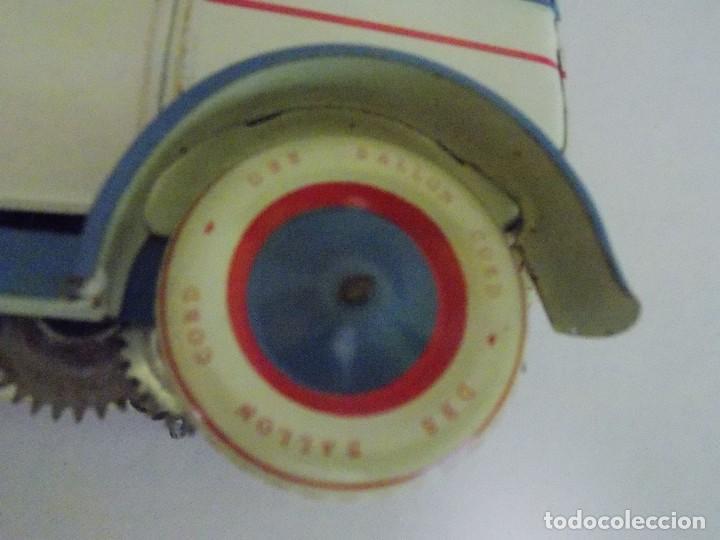 Juguetes antiguos de hojalata: COCHE DE HOJALATA SEDAN 540 BARON LIMUSINA REPLICA A Lehmann Luxus por DBS ALEMANIA - Foto 14 - 132733158