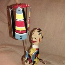 Juguetes antiguos de hojalata: JUGUETE DE HOJALATA. Lote 134380562