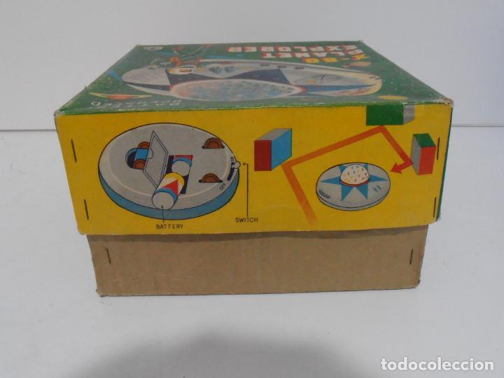 Juguetes antiguos de hojalata: OVNI, UFO, PLATILLO VOLANTE X-80 PLANET EXPLORER, CAJA ORIGINAL, MODERN TOYS, MADE IN JAPAN, AÑOS 60 - Foto 8 - 172270370