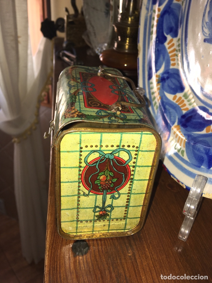 Juguetes antiguos de hojalata: Cabas ( cesta) de hojalata Rico ( es el mediano del juego). No paya no Jyesa - Foto 4 - 136189690