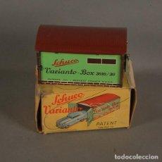 Juguetes antiguos de hojalata: JUGUETE DE HOJALATA EN MUY BUEN ESTADO. GARAJE. SCHUCO VARIANTO 3010 G. (BRD). Lote 136706406