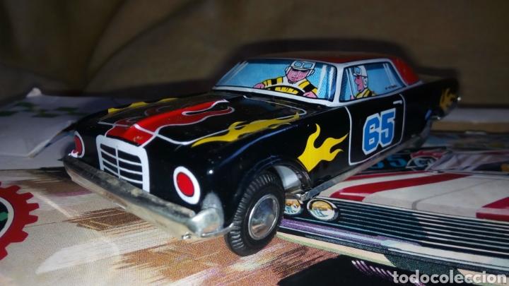 Juguetes antiguos de hojalata: TAKATOKU TOY. JAPAN. T.T. STOCK CAR RACE SERIES. HOJALATA AÑOS 60. NUEVO A ESTRENAR!! ÚLTIMO!! - Foto 4 - 137271589