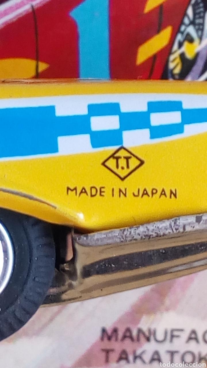 Juguetes antiguos de hojalata: TAKATOKU TOY. JAPAN. T.T. STOCK CAR RACE SERIES. HOJALATA AÑOS 60. NUEVO A ESTRENAR!! ÚLTIMO!! - Foto 7 - 137271589