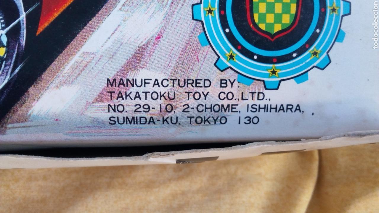 Juguetes antiguos de hojalata: TAKATOKU TOY. JAPAN. T.T. STOCK CAR RACE SERIES. HOJALATA AÑOS 60. NUEVO A ESTRENAR!! ÚLTIMO!! - Foto 8 - 137271589
