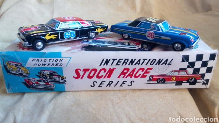 Juguetes antiguos de hojalata: TAKATOKU TOY. JAPAN. T.T. STOCK CAR RACE SERIES. HOJALATA AÑOS 60. NUEVO A ESTRENAR!! ÚLTIMO!! - Foto 10 - 137271589