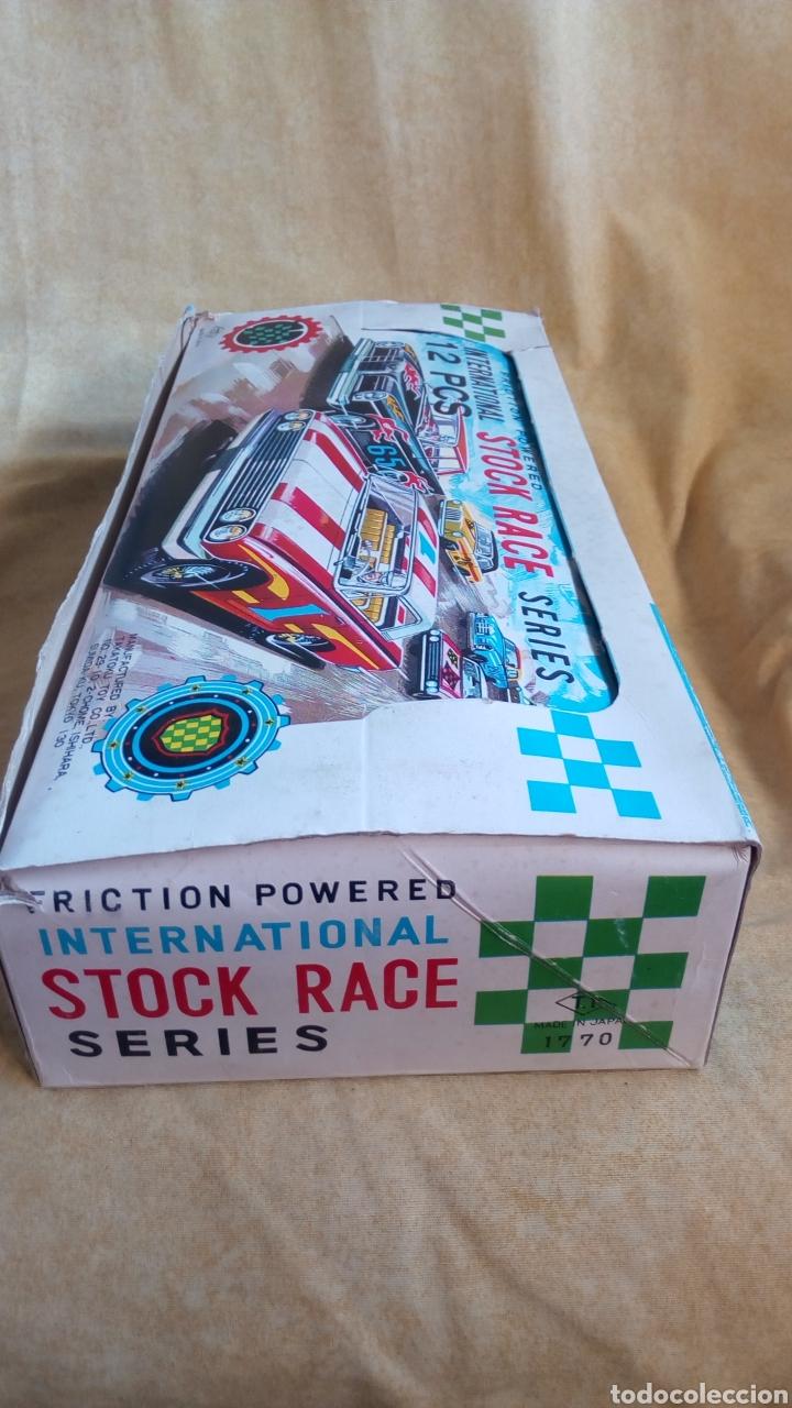 Juguetes antiguos de hojalata: TAKATOKU TOY. JAPAN. T.T. STOCK CAR RACE SERIES. HOJALATA AÑOS 60. NUEVO A ESTRENAR!! ÚLTIMO!! - Foto 11 - 137271589