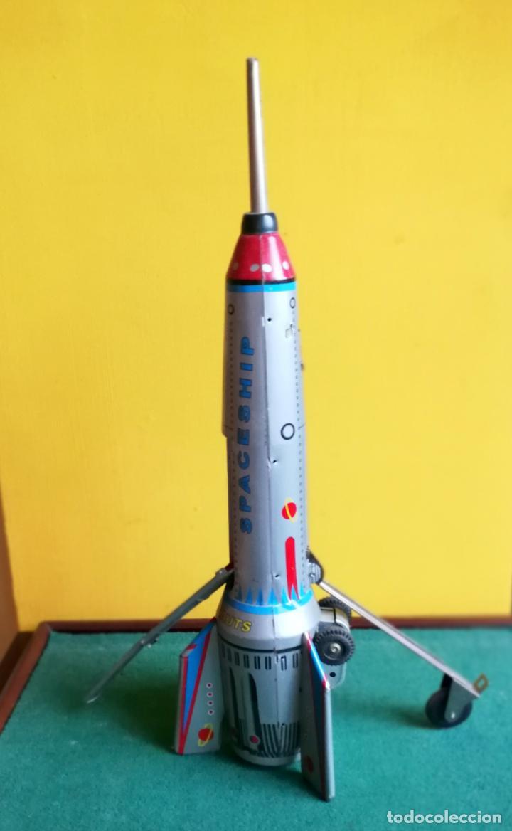 Hojalata A Con Al Skyexpress Fricción Uso Resortes Cohete Sin Chocar 8Xn0OwkP
