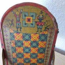 Juguetes antiguos de hojalata: MECEDORA GRANDE DE PICÓ Y CÍA 30,S. Lote 129313299