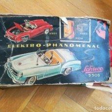Juguetes antiguos de hojalata: COCHE DE HOJALATA SCHUCO ELECTRO-PHANOMENAL 5503. MERCEDES.. Lote 195434108
