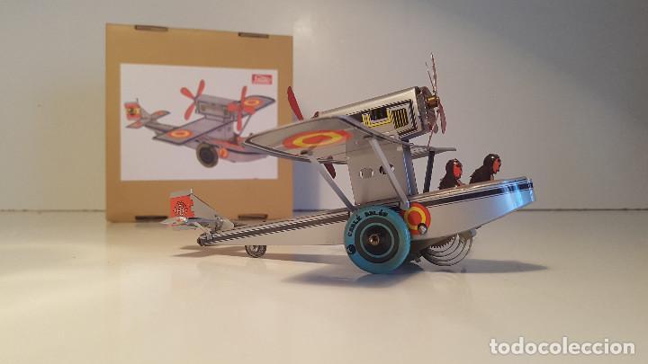 Juguetes antiguos de hojalata: PAYA Hidroavion Plus Ultra 1927 , completo con caja y llave, funcionando ! - Foto 3 - 174171593