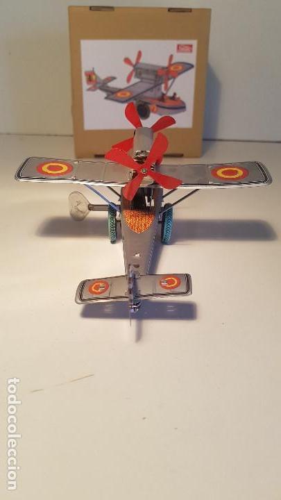 Juguetes antiguos de hojalata: PAYA Hidroavion Plus Ultra 1927 , completo con caja y llave, funcionando ! - Foto 5 - 174171593