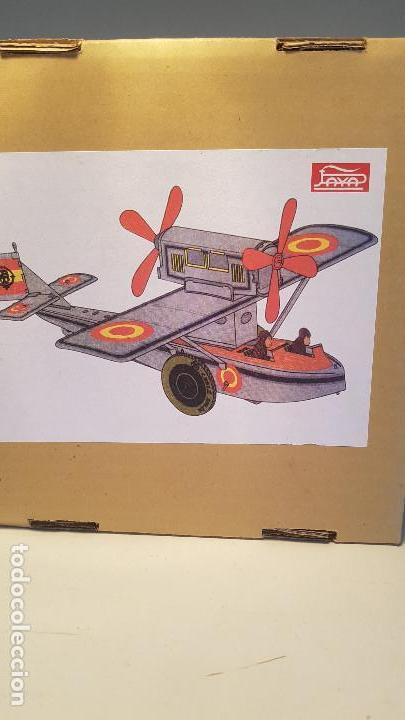 Juguetes antiguos de hojalata: PAYA Hidroavion Plus Ultra 1927 , completo con caja y llave, funcionando ! - Foto 10 - 174171593