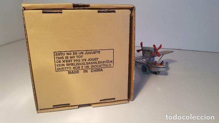 Juguetes antiguos de hojalata: PAYA Hidroavion Plus Ultra 1927 , completo con caja y llave, funcionando ! - Foto 13 - 174171593