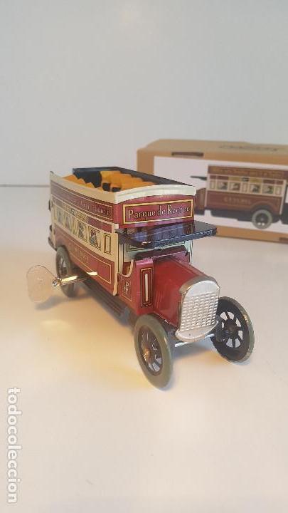 Juguetes antiguos de hojalata: PAYA autobus, completo con caja, llave, etc.. - Funcionando ! - Foto 2 - 173024007