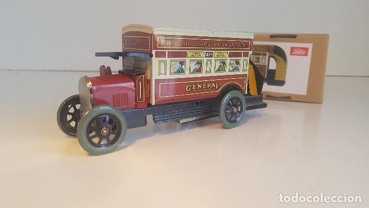 Juguetes antiguos de hojalata: PAYA autobus, completo con caja, llave, etc.. - Funcionando ! - Foto 3 - 173024007