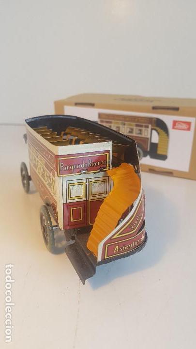 Juguetes antiguos de hojalata: PAYA autobus, completo con caja, llave, etc.. - Funcionando ! - Foto 4 - 173024007