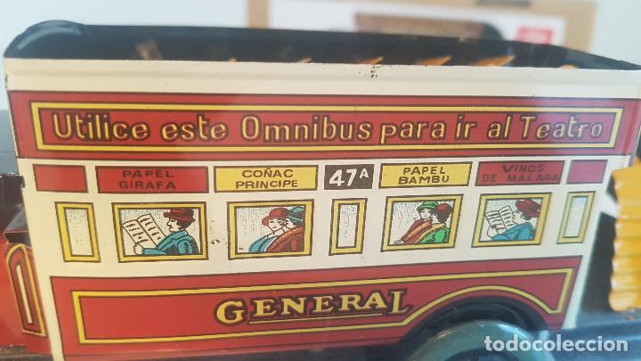 Juguetes antiguos de hojalata: PAYA autobus, completo con caja, llave, etc.. - Funcionando ! - Foto 7 - 173024007