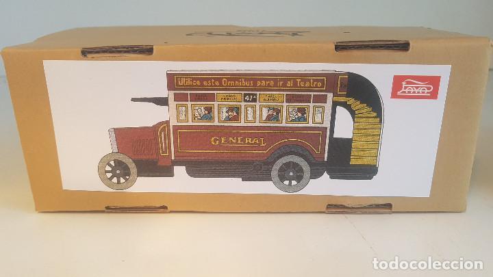 Juguetes antiguos de hojalata: PAYA autobus, completo con caja, llave, etc.. - Funcionando ! - Foto 8 - 173024007
