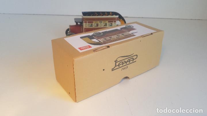 Juguetes antiguos de hojalata: PAYA autobus, completo con caja, llave, etc.. - Funcionando ! - Foto 10 - 173024007
